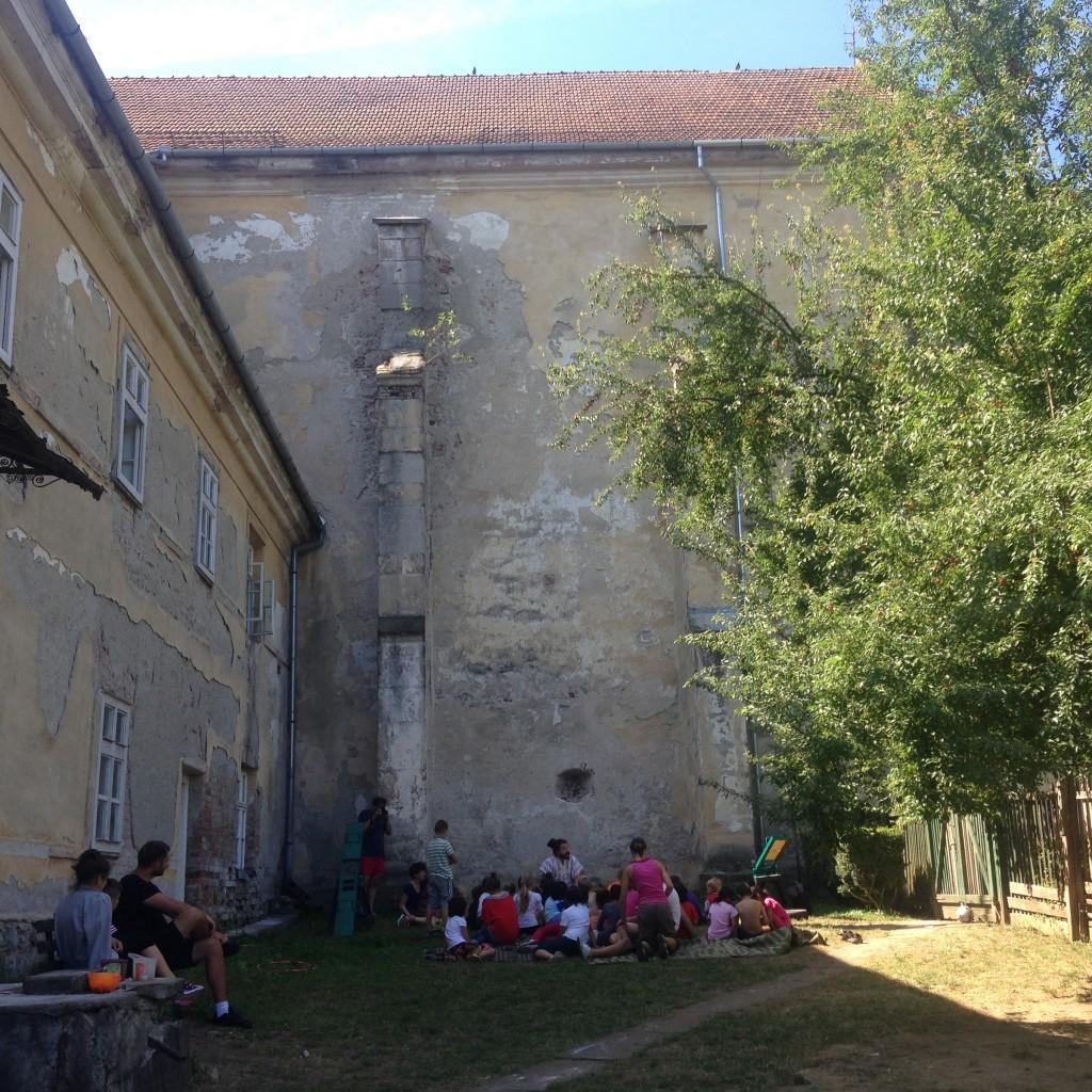 Dévai gyermekotthon nyári tábora (RO), 2015
