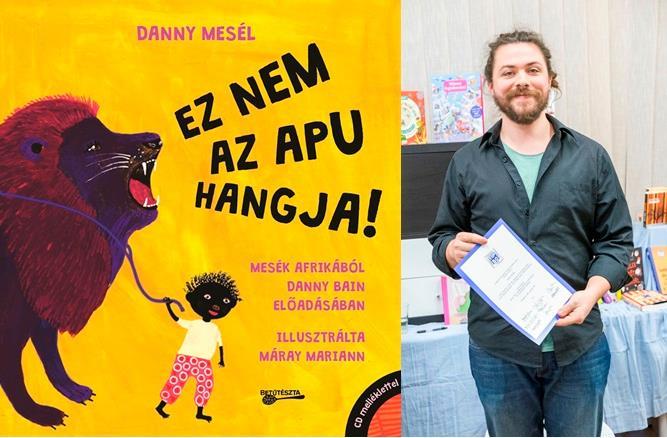Ez nem az apu hangja!, amit beválasztottak 2015 ötven legjobb gyermek- és ifjúsági könyve közé