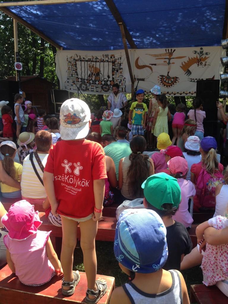 Székölykök Fesztivál, Ika Vára (RO), 2015 - Reggeli mese